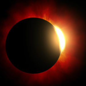 solar eclipse, sun, moon