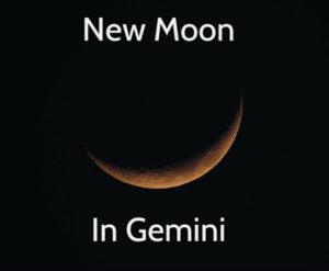 new moon, moon, sky